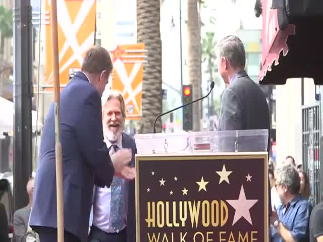 """The Dude"" Is Back To Honor John Goodman's Star On The Walk Of Fame!"