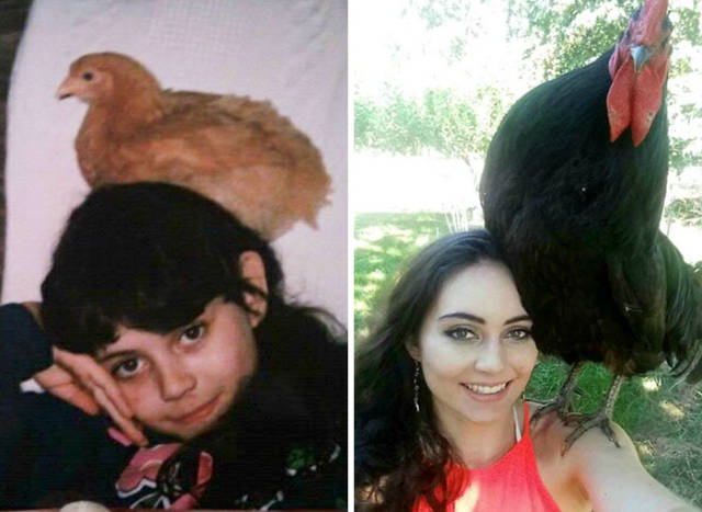 Growing Up Can Do Various Strange Things To People…