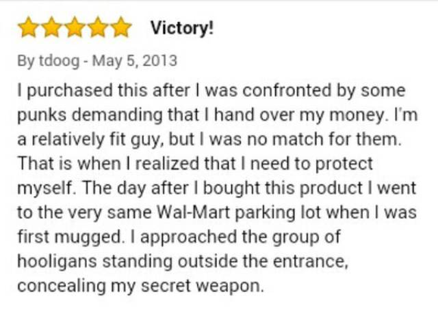 This Is Probably The Best Amazon Review Ever