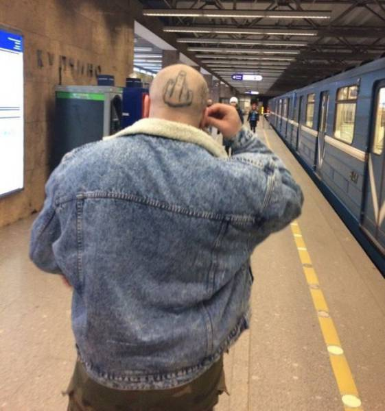No Idea What's Weirder – Russian Underground Or Above-Ground