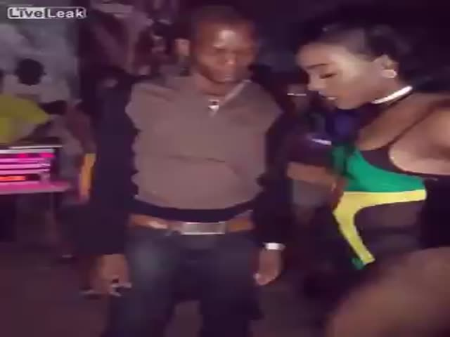 When Sh#t Gets Real At Jamaican Disco