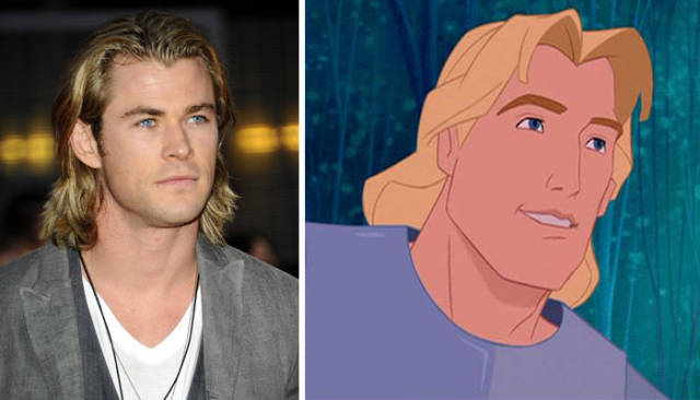 Cartoon Heroes Have Their Doppelgangers In The Real World!