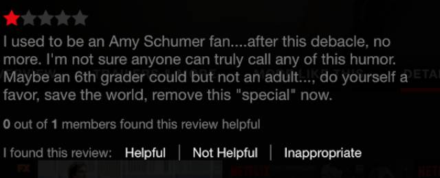 Internet Is Very Unhappy About Amy Schumer's Latest Special Standup