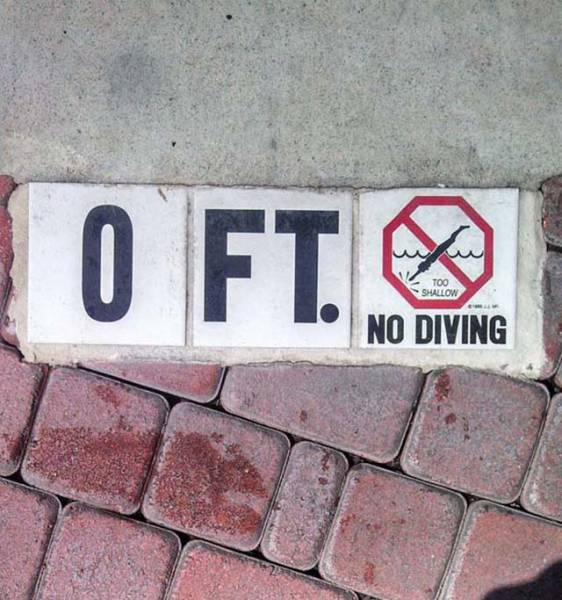 Idiots Are Safe As Long As These Signs Exist