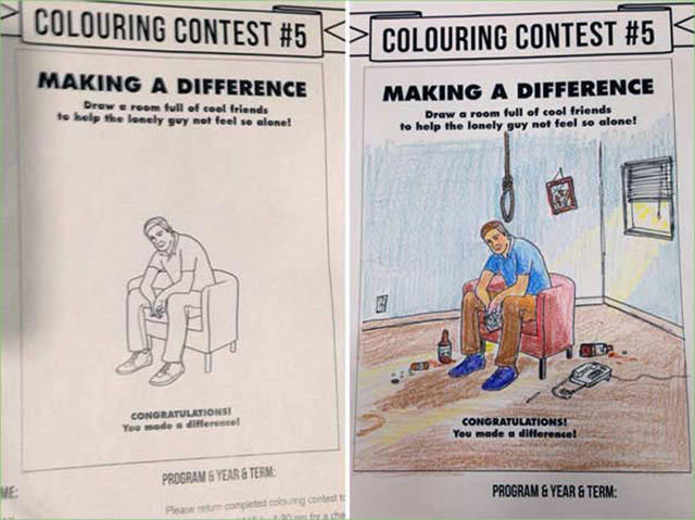 These Coloring Books Had No Idea What F#cked Up Sh#t Was Waiting For Them…