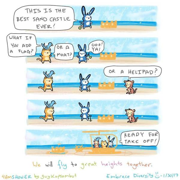 These Animal Comics Are So Uplifting!
