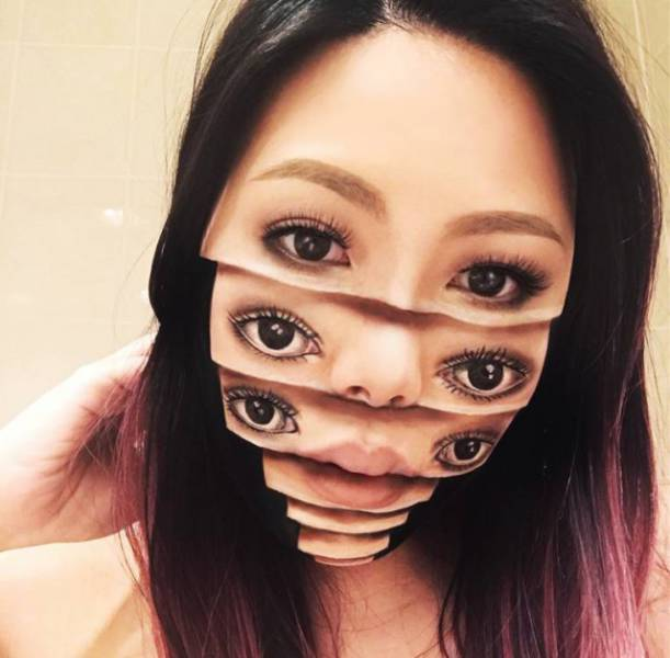 Yes, This Makeup Will Freak You Out. But You Will Love It Nonetheless