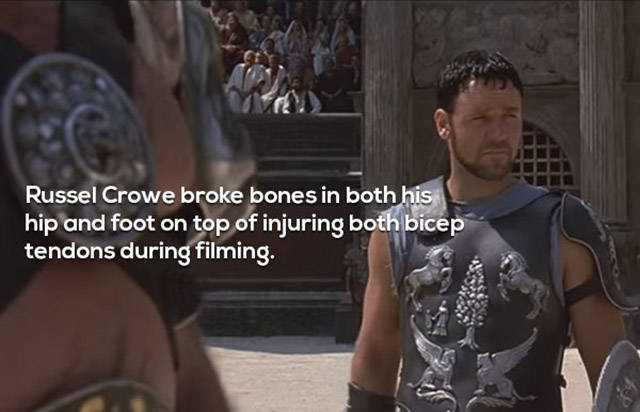 """Gladiator"": How Epic Historical Films Were Made Back Then"