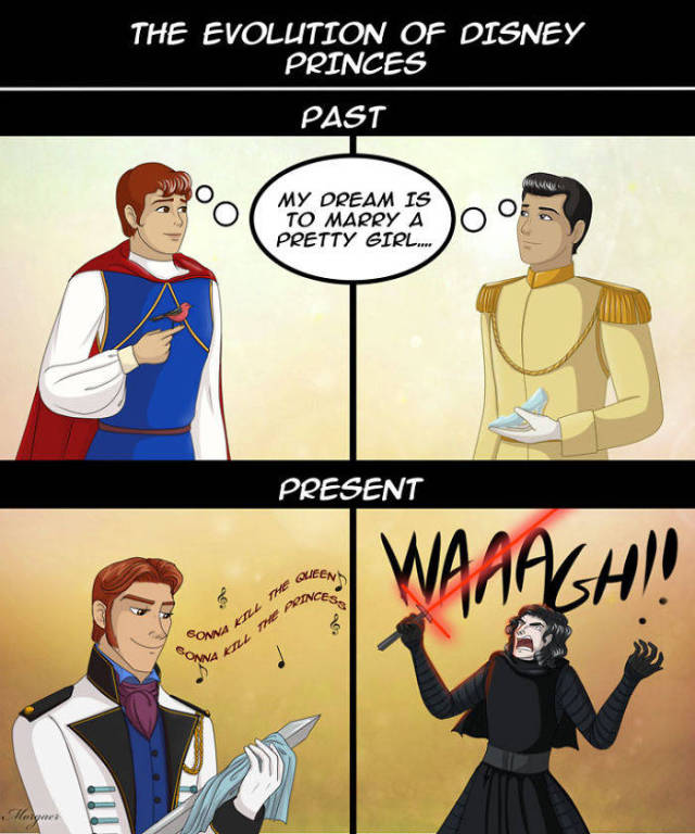 If You Ever Loved Disney Princesses Or Your Childhood, Don't Look At These Comics