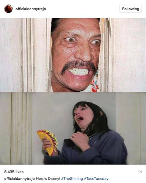 Danny Trejo's Instagram Is About As Absurd As His Movies Are