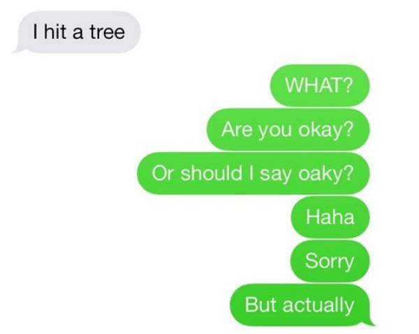 Texting Shouldn't Always Go This Bad