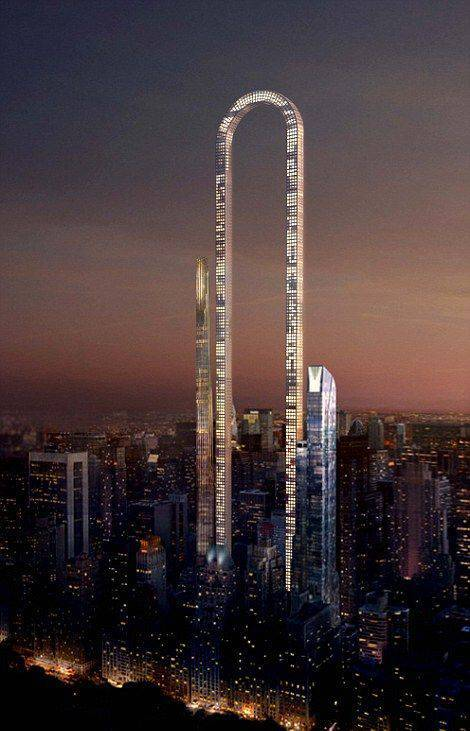 This Might Become The Strangest Skyscraper In The World