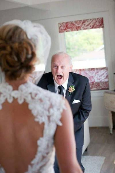 The Emotions Of When Dads Finally Realize Their Daughter Is Getting Married