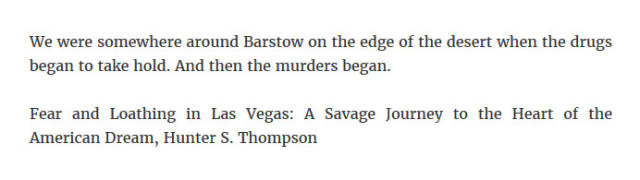 It Seems Like Every Story Can Be Made Much Better With Some Murders