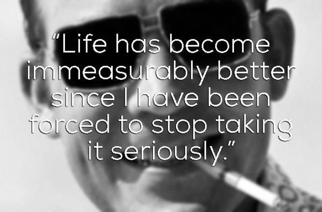 Take A Journey To The Other Side Of Normality Through These Hunter S. Thompson Quotes