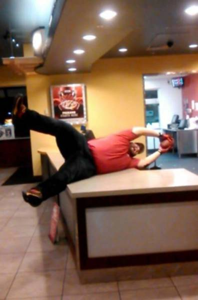If You Get Bored At Work… Do Something Crazy