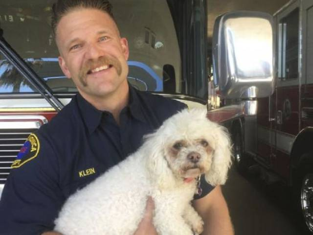 This Californian Firefighter Proves That His Destiny Is Saving Each And Every Life He Can