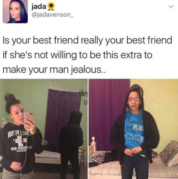 Best Friends Is A Totally Different Kind Of Friends