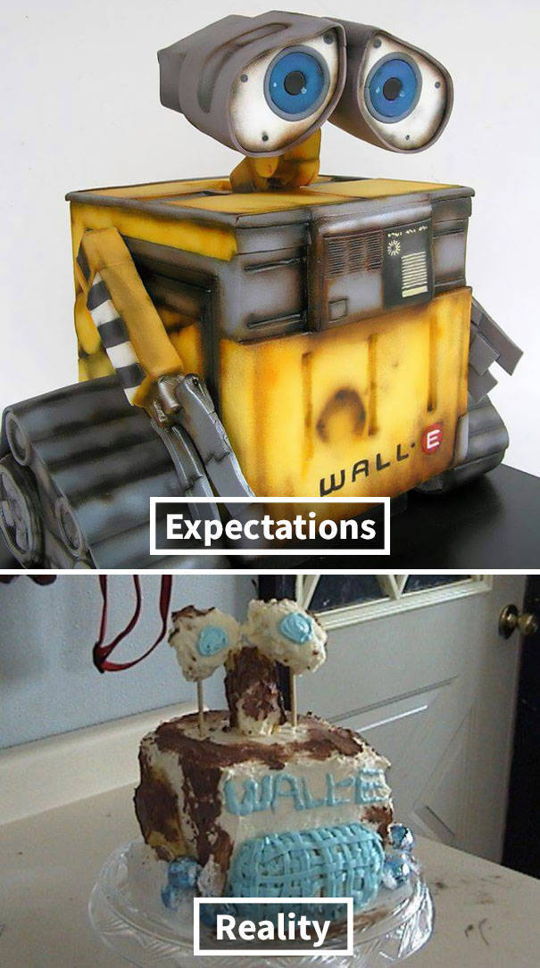 Let's Be Fair – Cakes Can Never Be Made As They Are Pictured On The Internet