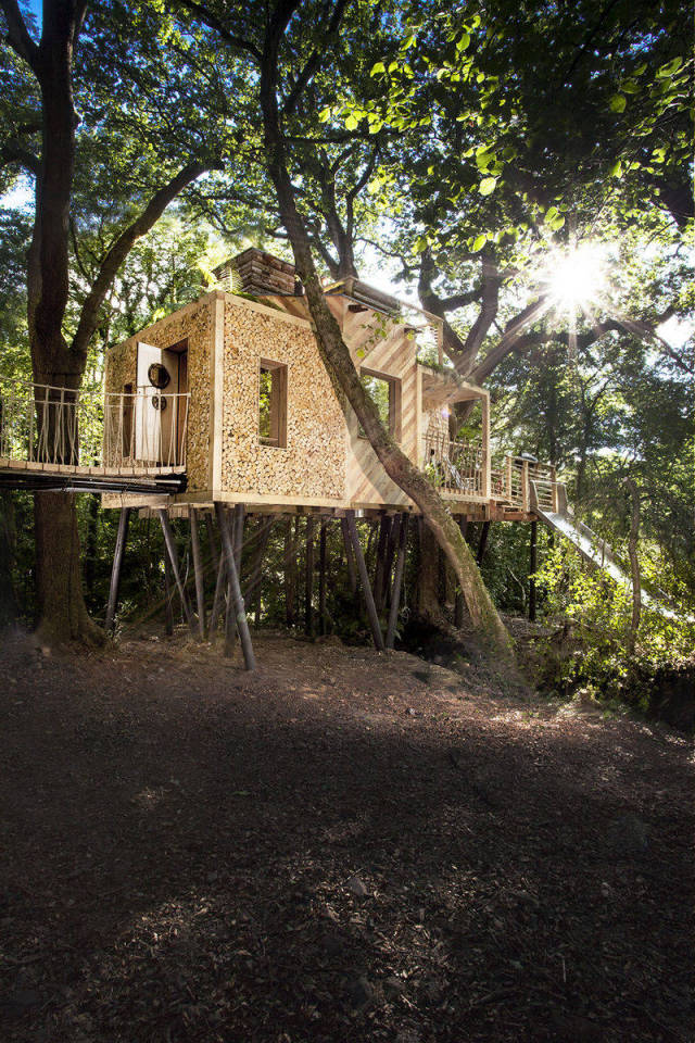 This Treehouse Comes Right From Your Childhood Dreams