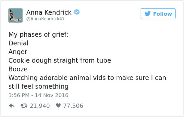 Anna Kendrick Never Fails With Her Hilarious Tweets