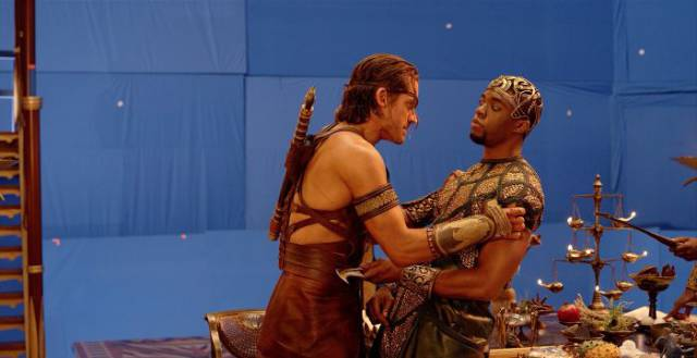 """Gods Of Egypt"" Before All That CGI Was Applied"