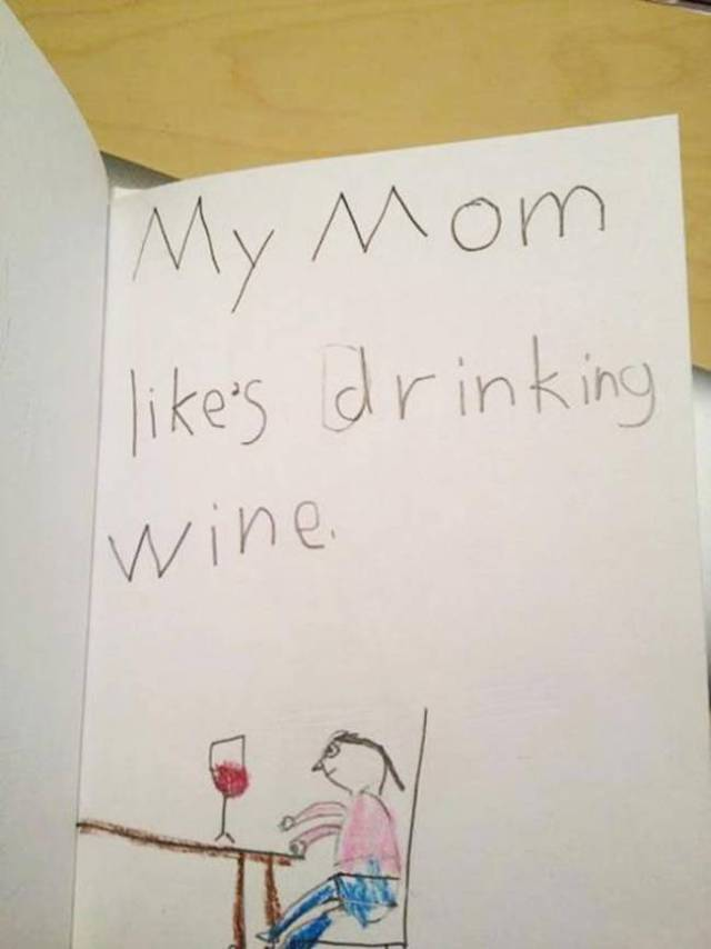 Kids Always Write Whatever The Hell They Might Be Thinking