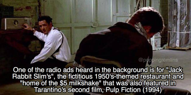 """Quentin Tarantino Has Put Some Serious Work Into His """"Reservoir Dogs"""""""