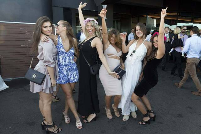 Australian Derby Is A Place Where You Can See Women In Most Explicit Clothing