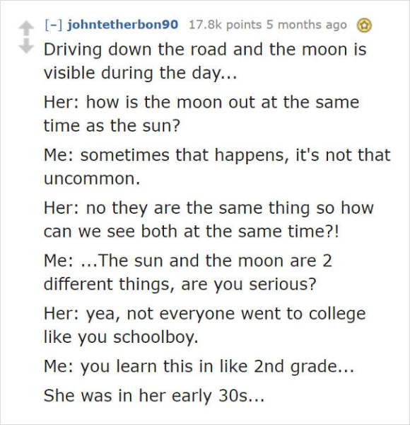Congratulations, You're Dating An Idiot!