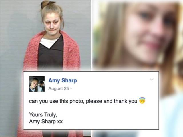 Having Escaped From Correctional Facility This Girl Contacts Police Herself Regarding Her Wanted Photo!