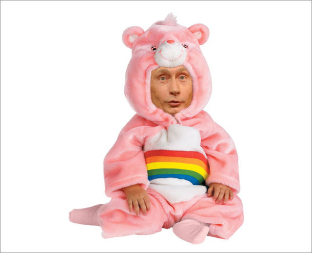 These Pictures Of Putin Are Now Forbidden In Russia!
