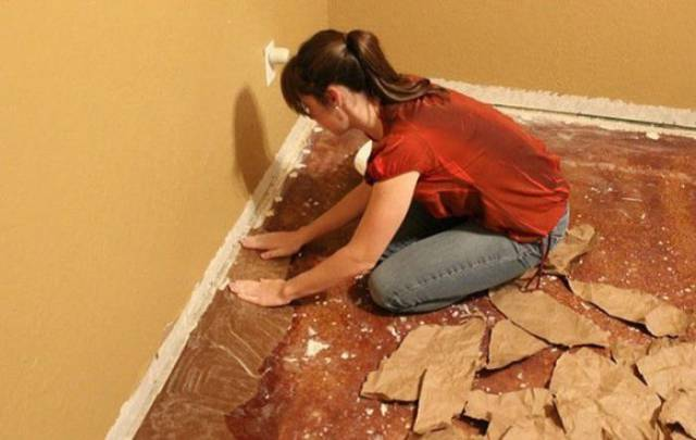 Everything You Need To Renovate Floor At Home Is Simple Paper