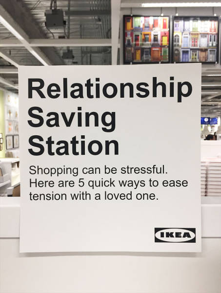 This Guy's Prank Makes IKEA A Relationship Saving Shop