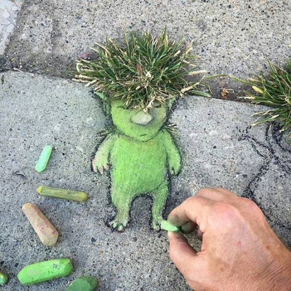 Image of: Abstract Sfcoua When Nature And Street Art Go Hand In Hand 50 Pics Picture 2