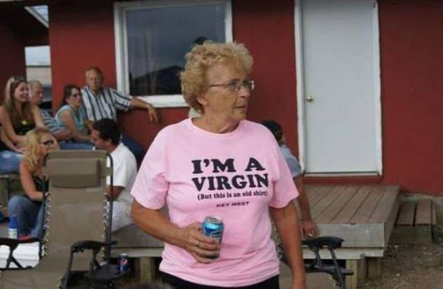 Old People Don't Give A F#ck What They Wear