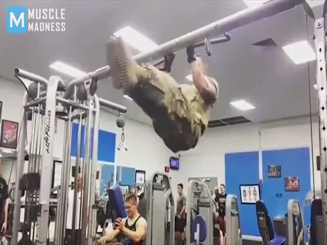 This Is How They Work Out In The Military