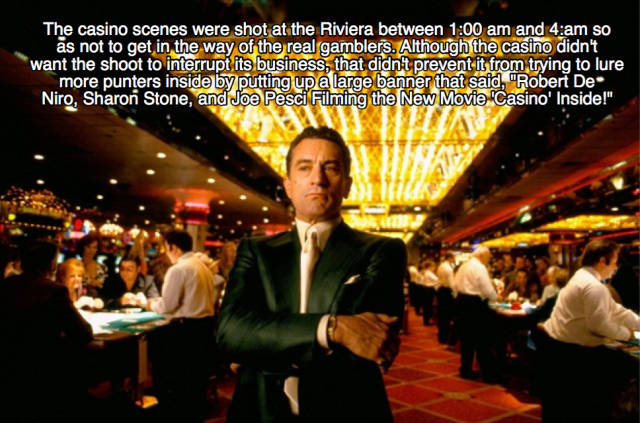 "Jackpot Of Facts About The ""Casino"" Movie!"