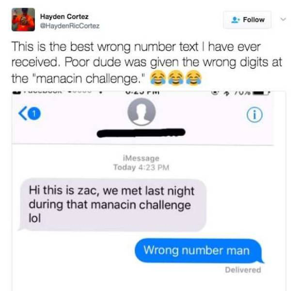 Wrong Number Texts Are Not Getting Any Weirder Than This