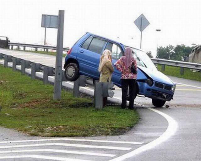 Danger! Girl Behind The Wheel!