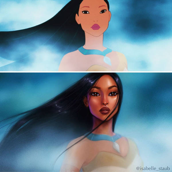 Realistic Versions Of Disney Princesses Look Marvelous!