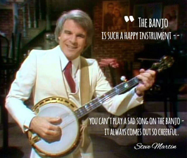 Steve Martin Manages To Turn Humor Into Everyday Wisdom