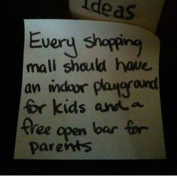 This Dad's Notes Warn Everyone About Parenting