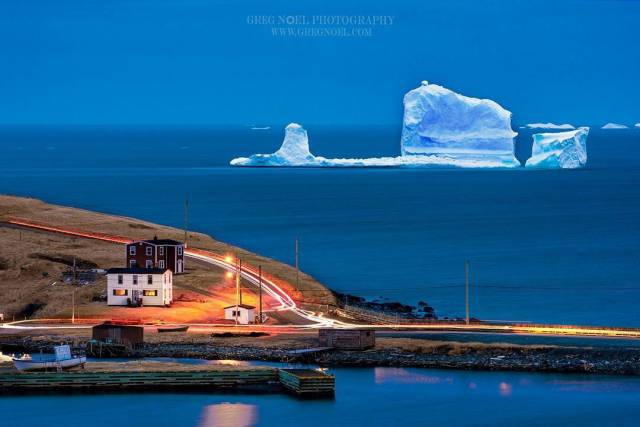 Icebergs Are Now A Thing To See – Especially If There Is An Alley Of Icebergs