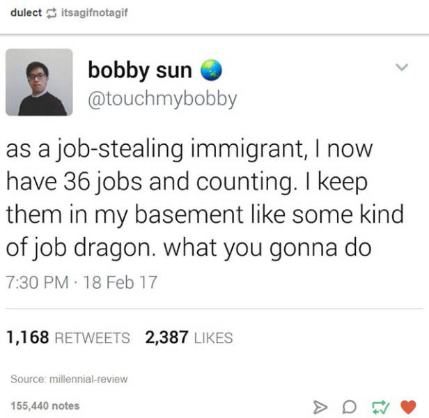 Tumblr Humor Warriors Are Doing Their Best