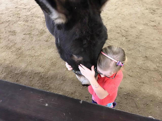 Completely Mute Girl Gets Healed By Her Donkey Friend!