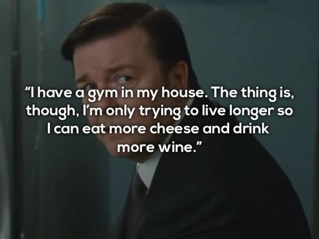 Ricky Gervais Is Certainly A Master Of A Sharp Word