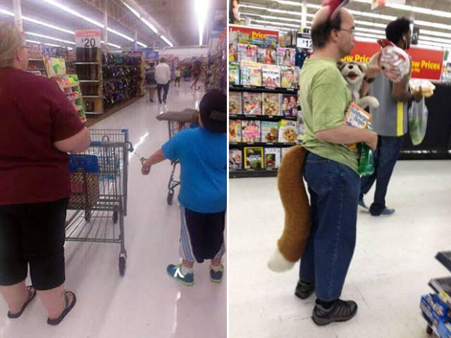 Walmart Is Like The Best Freak Show Provider Of All Time