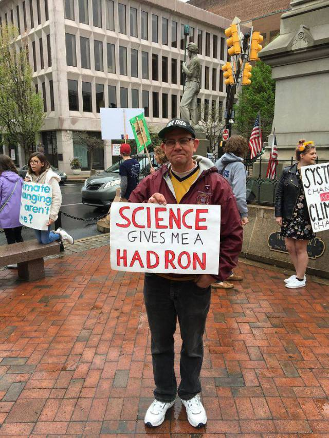"""""""March For Science"""" Is A Pinnacle Of Nerdiness"""