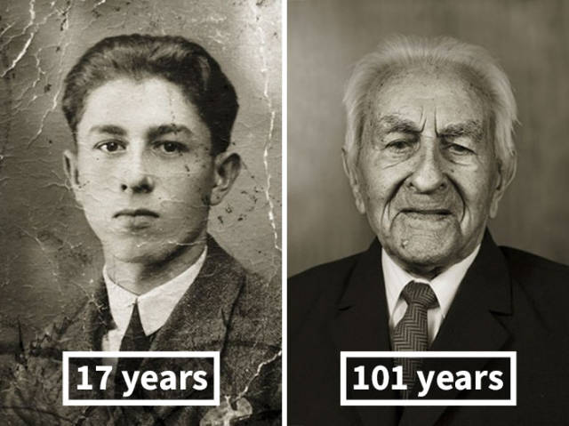That's How Different You Look Like When You're Young And When You Live For More Than A Century